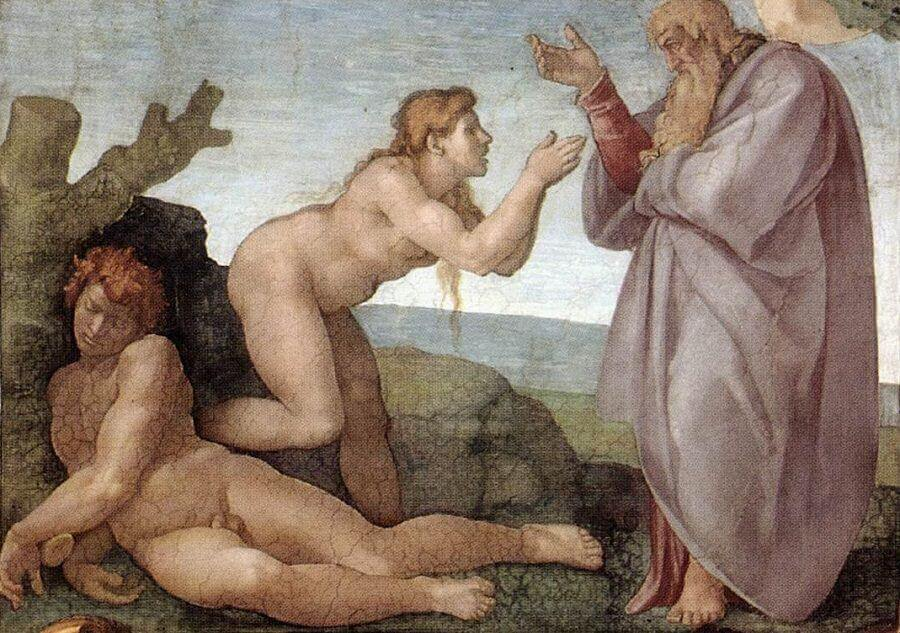 Creation of Eve, by Michelangelo