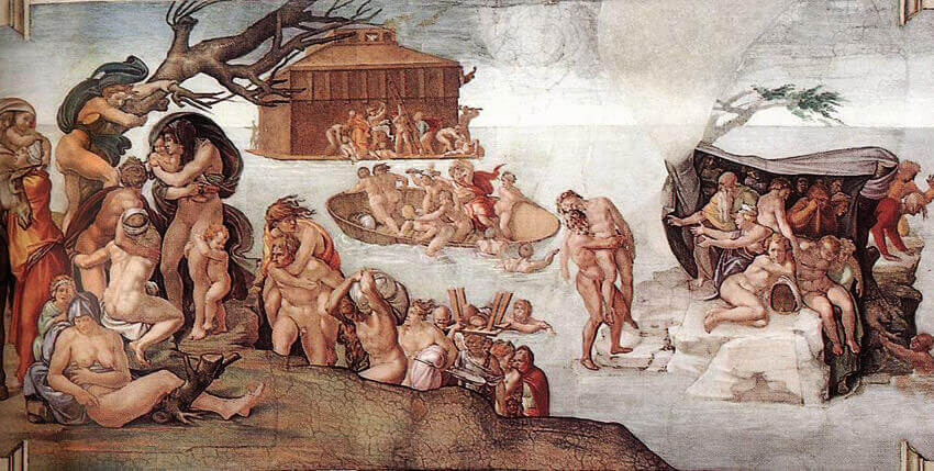 The Deluge, by Michelangelo