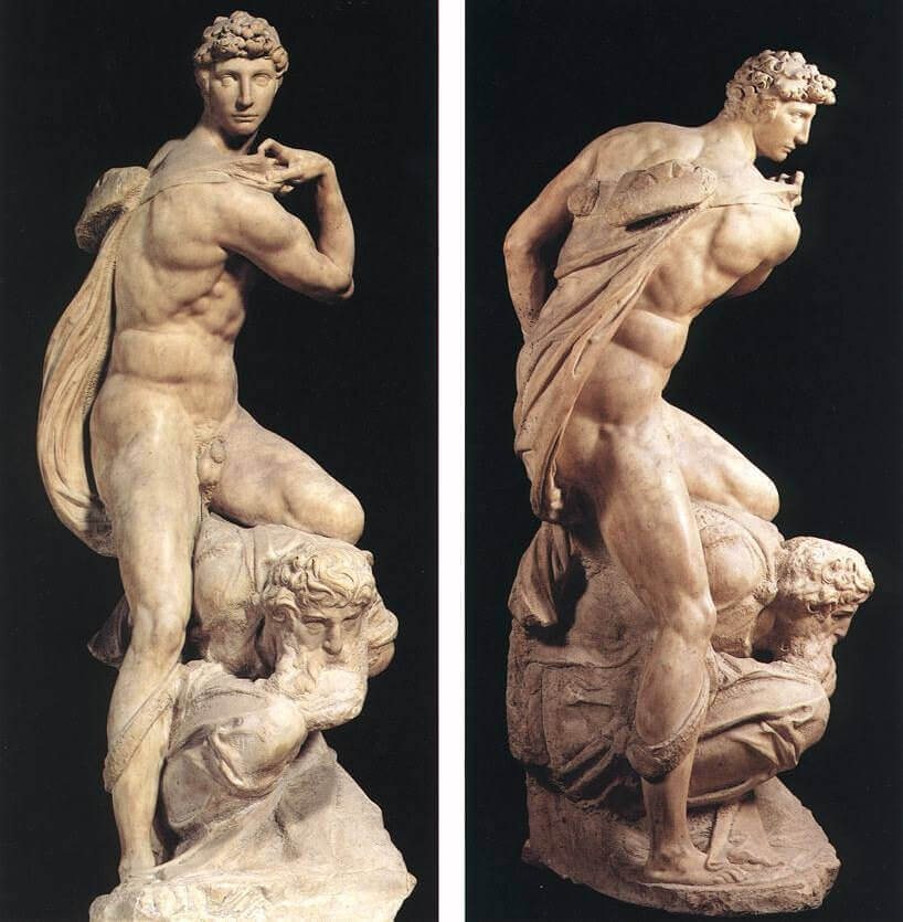 Victory, by Michelangelo