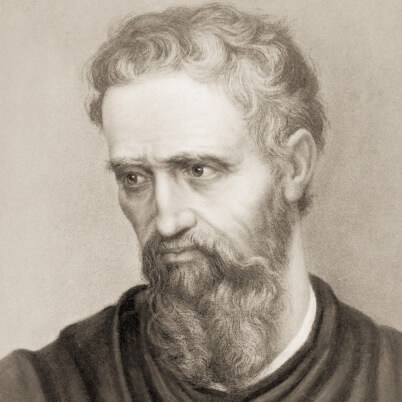 Michelangelo Self Portrait