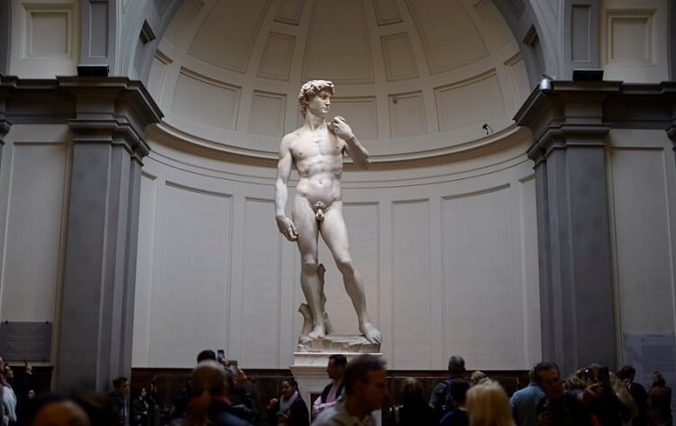 Photo of David by Michelangelo